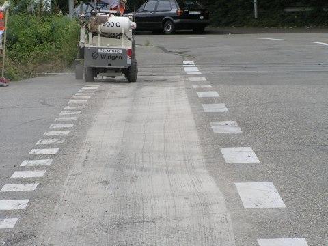 Straßenfräse